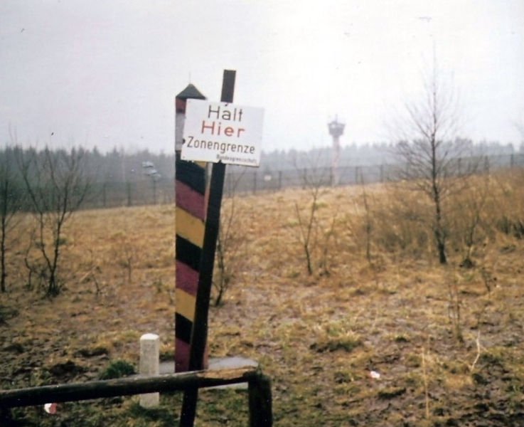 East German Barber Pole